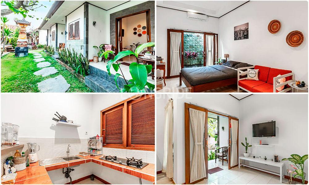 Апартаменты со своей кухней в районе Куты, на Бали