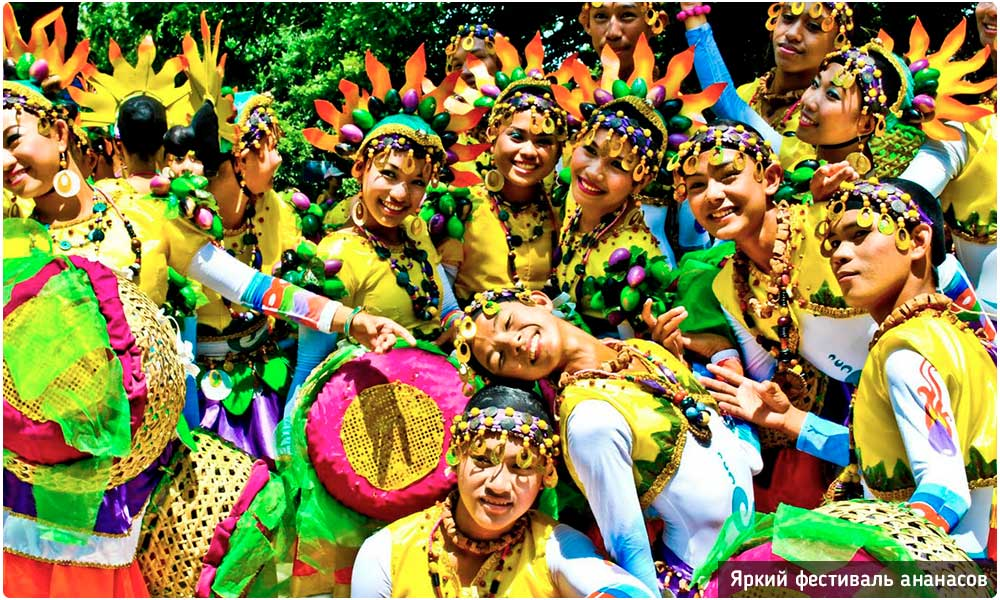 Фестиваль ананасов в провинции Лампанг