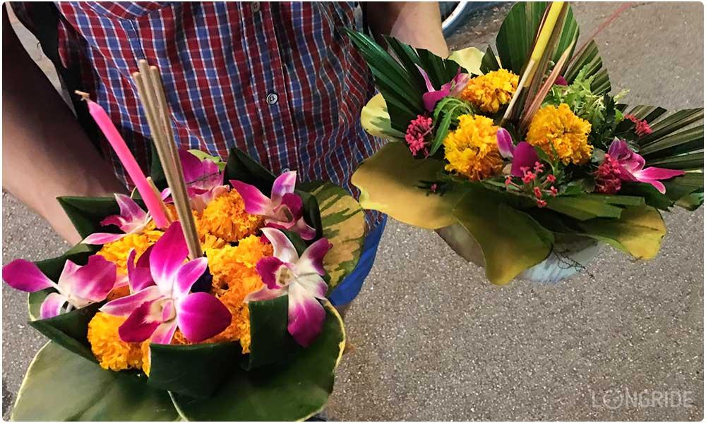 Праздник Лои Кратонг в Бангкоке