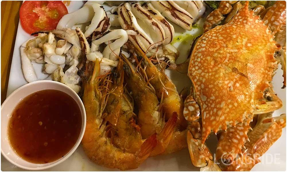 Сет из морепродуктов за 750 бат на Пхукете