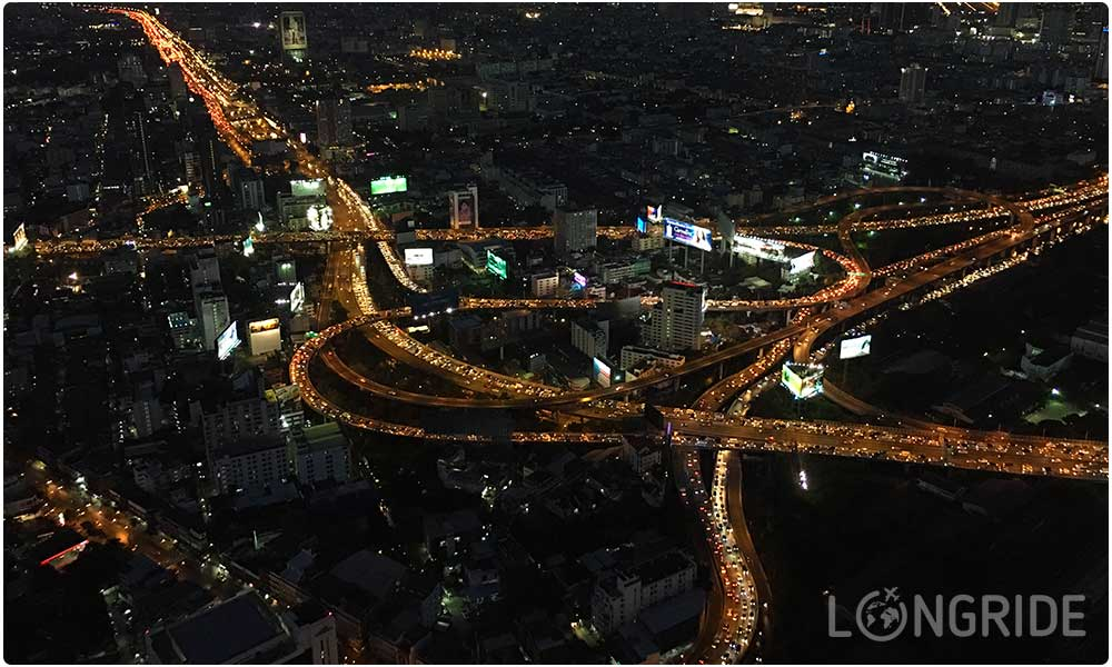Бангкок ночью, Таиланд